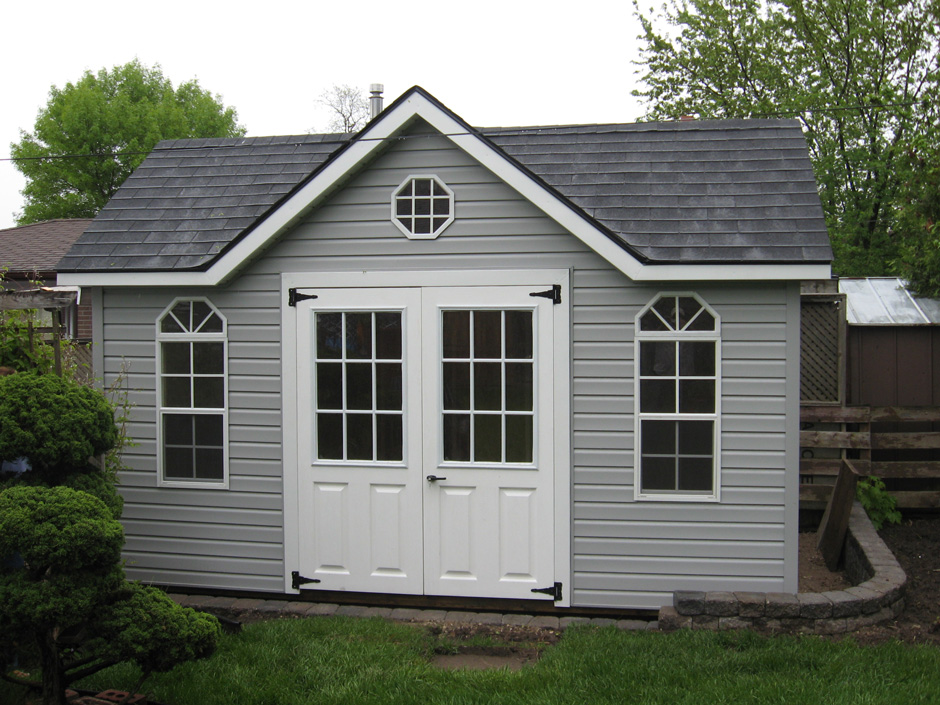 Denco Storage Sheds Poolside Saltbox Shed